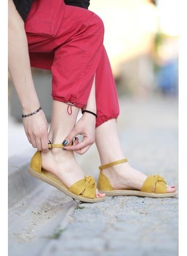 Oksit Sandalet Sarı